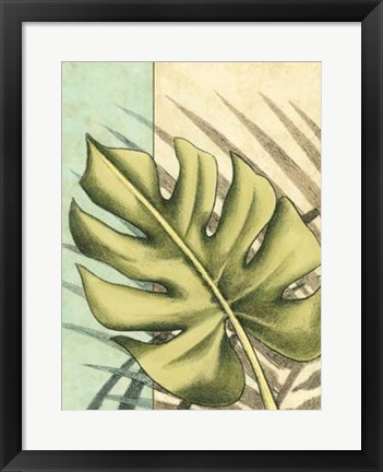 Framed Tropical Shade III Print