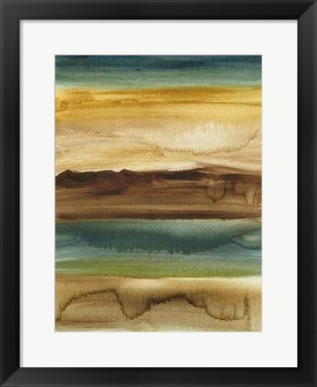 Framed Vista Abstract V Print