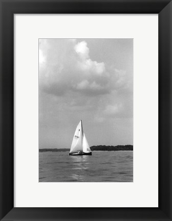 Framed Ocean Breeze IV Print