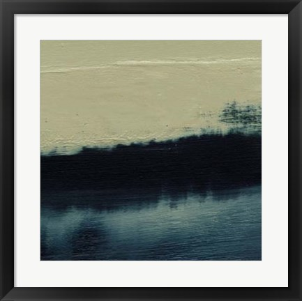 Framed Water II Print