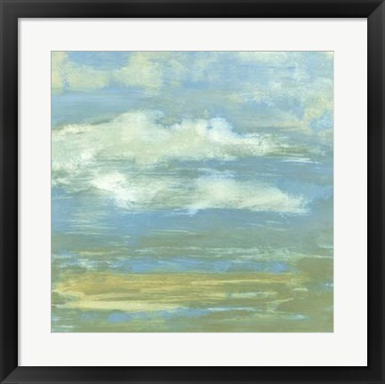 Framed Cloud Striations II Print
