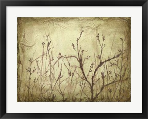 Framed Dancing Branches I Print