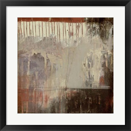 Framed Plum Earth II Print