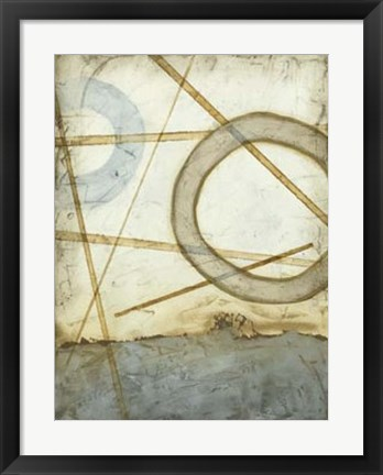 Framed Intersections II Print