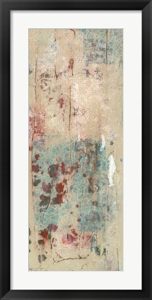 Framed Layers Of Paint II Print