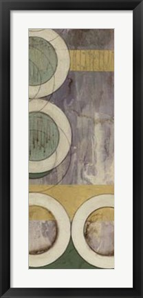 Framed Concentric I Print