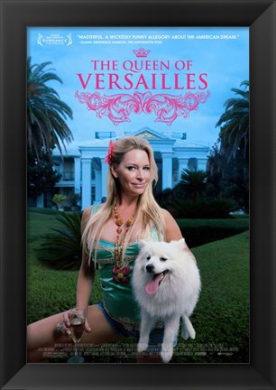 Framed Queen of Versailles Print