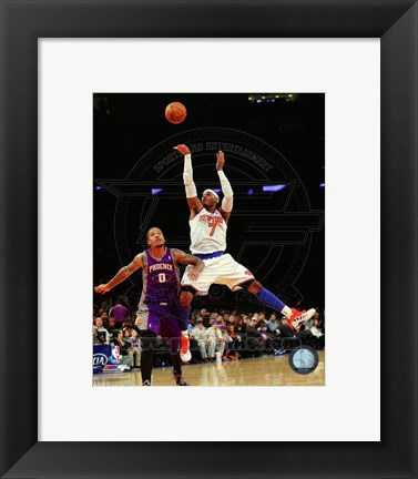 Framed Carmelo Anthony 2012-13 Action Print