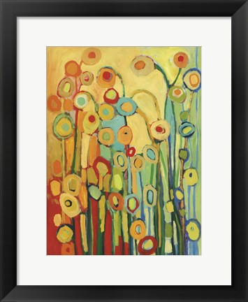 Framed Dance of the Poppy Pods Print