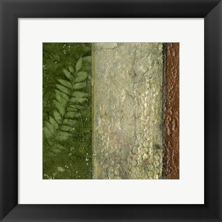 Framed Earthen Textures II Print