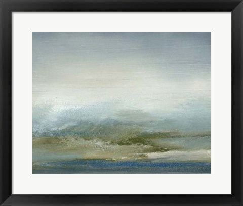 Framed Sea II Print