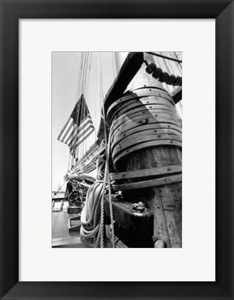 Framed Set Sail V Print