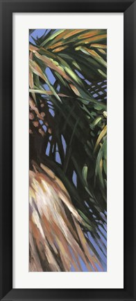 Framed Wild Palm II Print