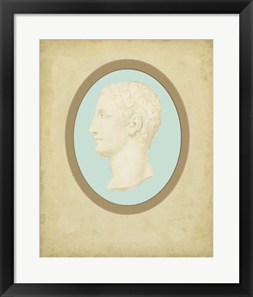 Framed Spa Cameo II Print
