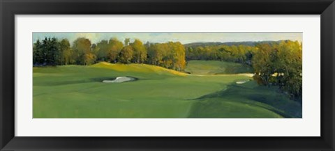 Framed Golf Scene III Print