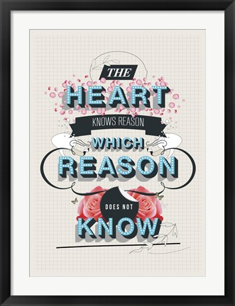 Framed Reason Print