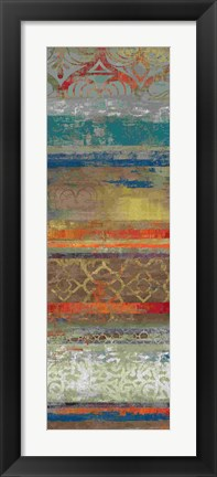 Framed Lace Abstract II Print