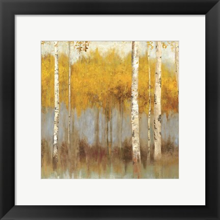 Framed Golden Grove I - Mini Print