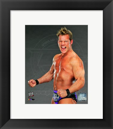Framed Chris Jericho 2013 Posed Print