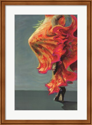Framed Flamenco Fiesta I Print