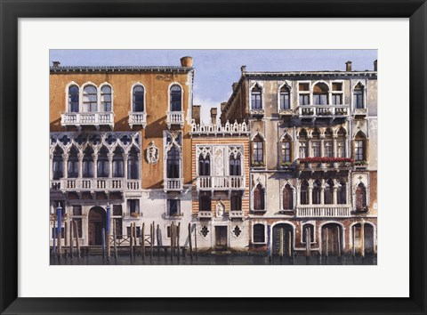 Framed Palazetto Tron Print