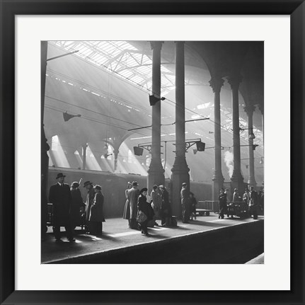 Framed Liverpool Street Station Print