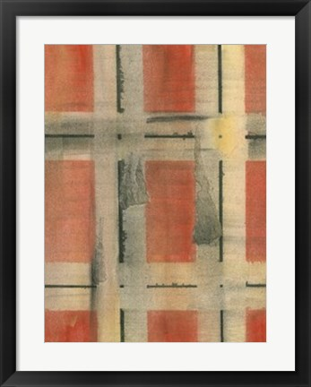 Framed Charred Surfaces IX Print