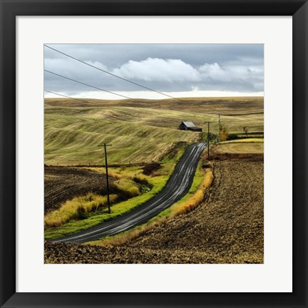 Framed Road Home Print