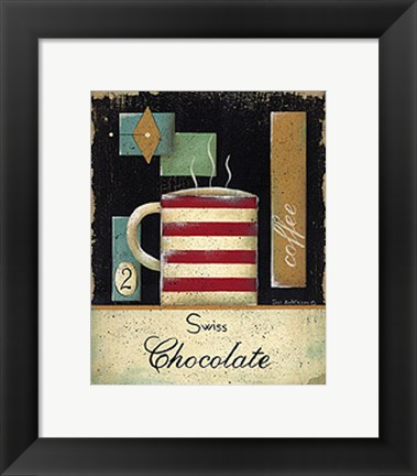 Framed Swiss Chocolate Print