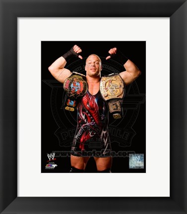 Framed Rob Van Dam 2006 Posed Print