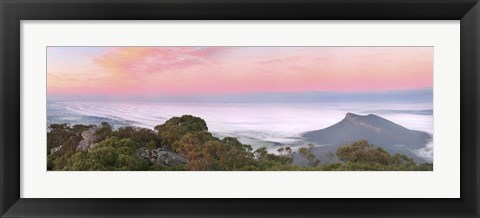 Framed Mt Sturgeon Fog Print