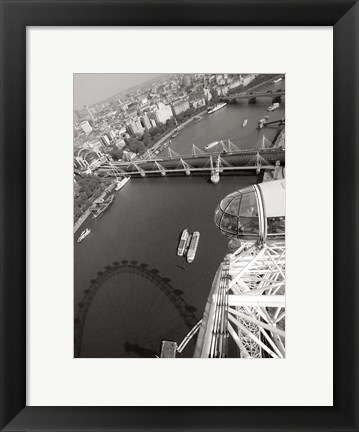 Framed London Eye III Print