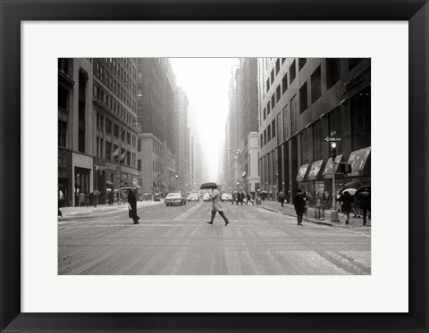 Framed 3rd Ave NYC Print
