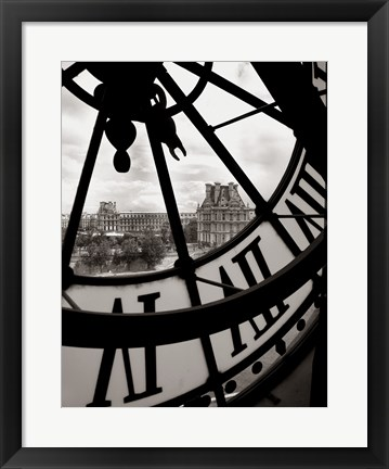 Framed Big Clock Print