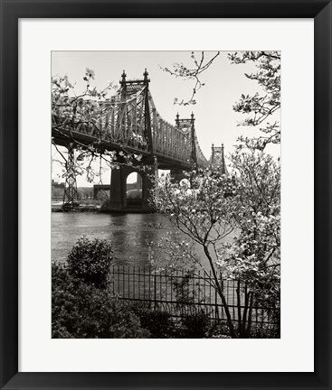 Framed 59Th Street Bridge Print