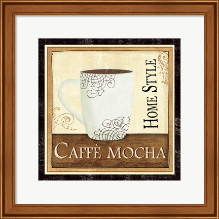 Framed Coffee and Cream IV Print