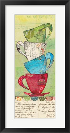 Framed Come for Tea Print