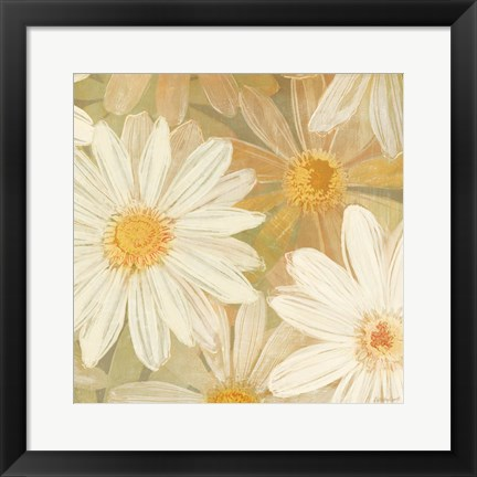 Framed Daisy Story Square II Print
