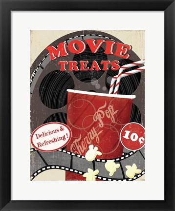 Framed At the Movies II Print