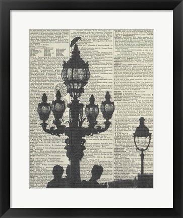 Framed Architectural Paris III Print