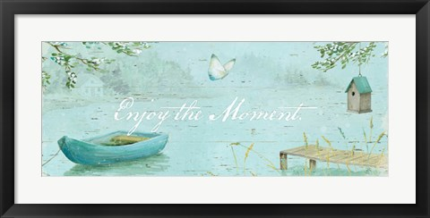 Framed Serene Moments IV Print