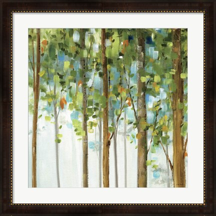Framed Forest Study III Print