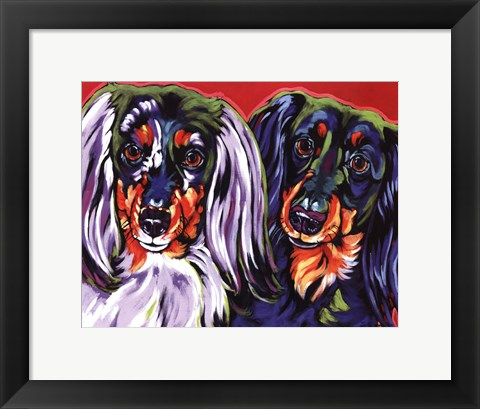 Framed Holly & Libby Print