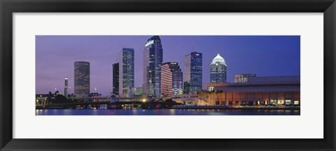 Framed Tampa FL USA Print