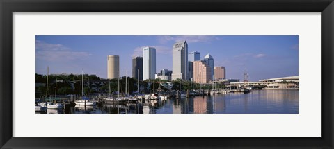 Framed Tampa, Florida, USA Print