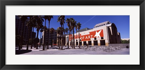 Framed Art museum in a city, Downtown San Jose, California Print