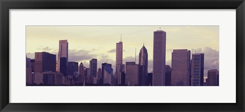 Framed Skyscrapers in Chicago Print