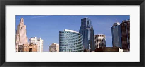 Framed Downtown Kansas City, Missouri Print