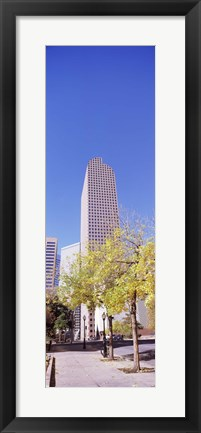 Framed Mailbox building in a city, Wells Fargo Center, Denver, Colorado, USA Print