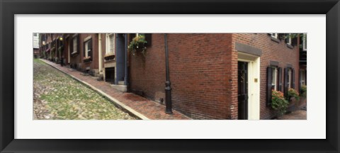 Framed Beacon Hill, Boston Massachusetts Print